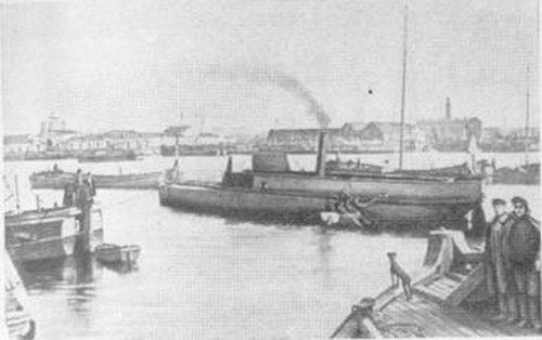 Первый металический корабль
