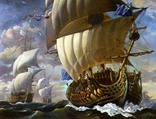 Регулярный флот Петра I