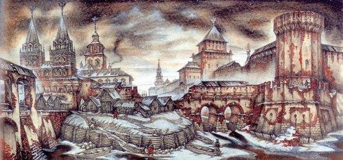 Крепость Московский кремль