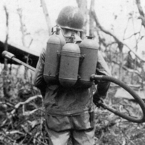 Огнеметы в годы Великой Отечественной войны