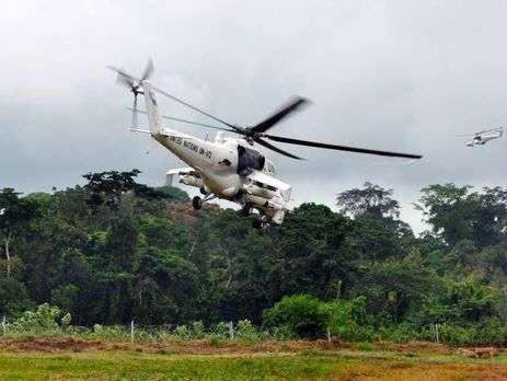 Вертолеты на службе миротворцев