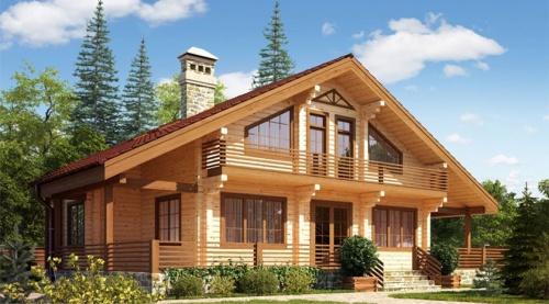 будинок з бруса
